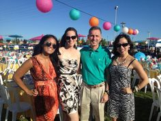 Another great photo of the @ABC30 Action News team from Fiesta De Los Ninos.  Pictured from left to right are producer Christine Perito, anchor/reporter Stephanie Stone, ABC30 President and General Manager Dan Adams and anchor/reporter Christine Park.  A great event benefiting a great organization.