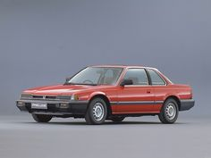 The first car I bought myself - Red Honda Prelude with sunroof.  Loved, loved, loved it.