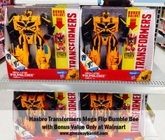 Hasbro Transformers Mega Flip Bumble Bee #ChosenByKids