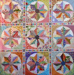Laura Wheeler - Sunburst Quilt