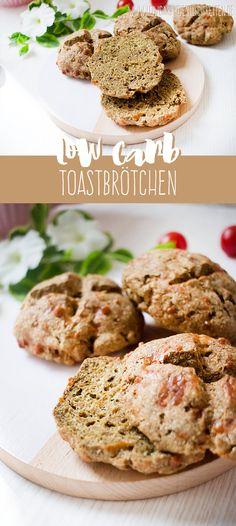 Leckere Low Carb Toastbrötchen - glutenfrei! www.lowcarbkoestlichkeiten.de