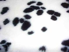 huidversiering Dalmation Fur