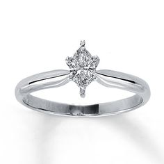 0.04 Cttw Ring Size-13 Black Natural Diamond Accent Clover Leaf Ring in14k White Gold Over Sterling Silver