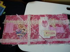 The Slightly Mad Quilt Lady: Fabric Book Cover Tutorial