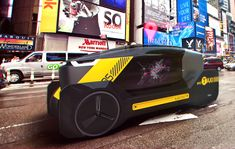 Tesla New York City Cab by Philipp Fromme and Lukas Wochinger Automotive Industry, Automotive Design, Auto Design, Car Sketch, Food Sketch, Concept Motorcycles, Best Luxury Cars, Self Driving, Transportation Design