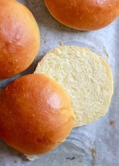 light brioche hamburger buns | The Clever Carrot. Not sure why she calls this light though. Don't think it really qualifies