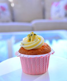 Thermomix Cupcakes Passionfruit