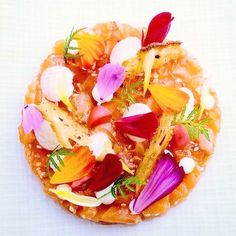 Saumon aux saveurs florales