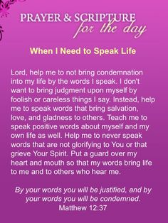 Prayer concerning my words (from Stormie Omartian)
