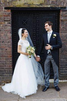 Elegant Hampstead Burgh House Wedding London by Kirsten Mavric Photography London Bride, London Wedding, Groom, Elegant, Wedding Dresses, Unique, Photography, House, Style