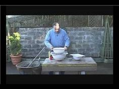 How to Make Concrete Garden Spheres : Coloring Concrete Garden Spheres - YouTube