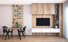 Návrh 2-izbového bytu v dúbravských Čerešniach nás veľmi bavil nielen vďaka jeho pohodovým majiteľom, ale aj jeho praktickej dispozícii. Návrhu dennej zóny dominujú prírodné motívy, dubová dyha a biela. Cieľom bolo vytvoriť moderný a harmonický interiér.🌳🌿Design by @avedesign.sk ✅ Štúdio interiérového dizajnu v Bratislave. #avedesign #bratislava #ceresne #interierovydesign #interierovydizajner #interiorstylist #obyvacka #navrhinterieru #architektura #dizajn #slovakdesign… Divider, Room, Furniture, Home Decor, Bedroom, Decoration Home, Room Decor, Rooms, Home Furnishings