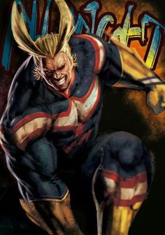 All Might art,so cool #allmight #myheroacademia #cosplayclass