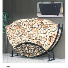 <strong>ShelterIt</strong> Steel U Shaped Firewood Rack