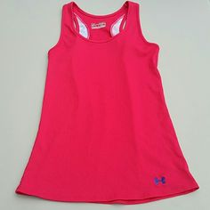 Under Armour Fitted Racerback Tank Like new condition. Under Armour Tops Tank Tops