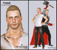 Thor - The Sims 3 Journal