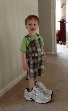 Big shoes to fill – slideshow! | #BabyCenterBlog