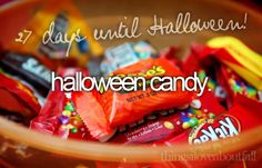 things i love about fall - halloween candy