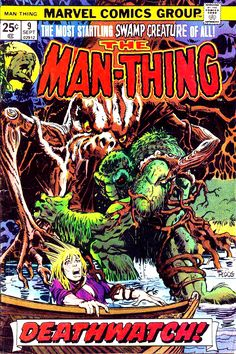 Man-Thing #9 Cover Art by Mike Ploog
