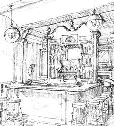 Seaport Hotel Restaurant Concept. Atelier & Co. Jason Grimes