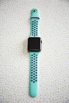 Best Turquoise and Blue Sport Apple Watch Band, All Apple Watch Straps available at SpartanWatches.com