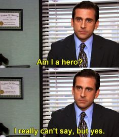 Most memorable quotes from Michael Scott, a movie based on film. Find important Michael Scott Quotes from film. Michael Scott Quotes about life in the Dunder Mifflin paper company. La Haine Film, Office Jokes, The Office Humor, Office Signs, The Office Show, Office Tv, The Office Jim, Office Wallpaper, Cinema Tv