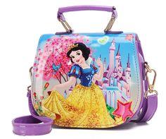 2018 New Girls Cute Shoulder Bag Children Cartoon princess Handbag Kids  Mini  Unbranded  ShoulderBag 683085d78cea5