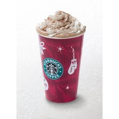 Egg Nog Latte Recipe copycat to Starbucks Delicious! ❤ liked on Polyvore featuring home, kitchen & dining, cookbooks and recipe cookbook