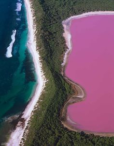 An aerial view of Lake Hillier, Western Australia © Auscape / Getty Images Rosa See, Beautiful World, Beautiful Places, Amazing Places, Beautiful People, Middle Island, Places To Travel, Places To Visit, Surf
