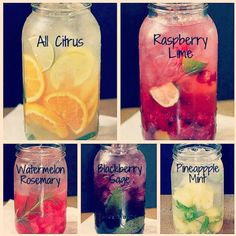Vitamin water, homemade and so good for you!  Found at  https://www.facebook.com/recipesbyvi