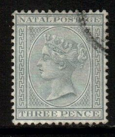 South Africa Natal Scott 69 - Grey, used - bidStart (item 38506880 in Stamps, British Commonwealth) Cape Colony, Crown Colony, Colonial, Union Of South Africa, Rare Stamps, Kwazulu Natal, West Africa, Commonwealth, Postage Stamps