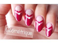 Nail Art Facile : Des Paillettes♡ - YouTube