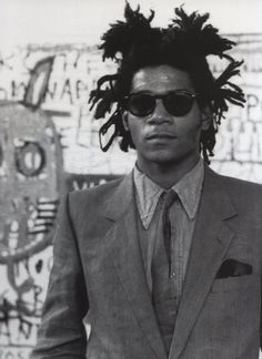 Born in Brooklyn, Basquiat was the son of a Haitian immigrant and his wife of Puerto Rican origin.  He started his career in the New York underground graffiti and music scene, meeting – among others - a young Madonna, with whom he had a brief relationship.