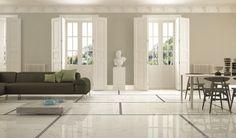 A5 Statuario Venato - Grey St. Laurent #CaesarAnima #OpenSpace #living #lucido