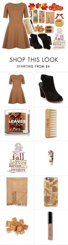 """""""When the leaves fall"""" by a-hidden-secret ❤ liked on Polyvore featuring Topshop, Steve Madden, The Body Shop, Apples, Armand Diradourian, Casetify and Bobbi Brown Cosmetics"""