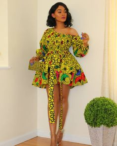 Latest Ankara Dresses, Ankara Short Gown Styles, Short African Dresses, African Inspired Fashion, Latest African Fashion Dresses, African Print Dresses, African Fashion Designers, African Print Fashion, Short Gowns
