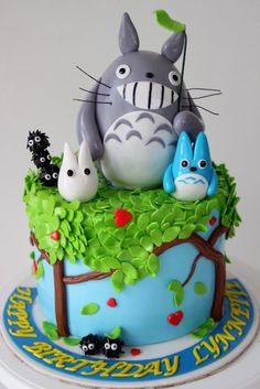 Oh my gosh. If I ever get good at decorating cakes, i'll make you this. :)