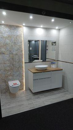 Kolekcja mebli łazienkowych Lofty w TGS Gliwice.  #naszemeblenaszapasja #elita #meble #łazienka #meblełazienkowe #elitameble #strefaelita Bathroom Styling, Bathroom Interior, Bathrooms, Tiles, New Homes, House, Home Decor, Small Bathrooms, Bathroom