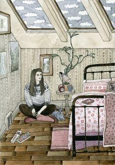 Girl's bedroom by Yuliya