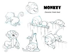 Monkey Character Design 2 by AlexTLin