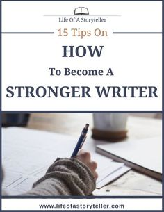 How to become a stronger writer.  | Tips for writing blog posts, freelance jobs, writing processes, copywriting, newsletters, SEO, ebooks, and planning. |