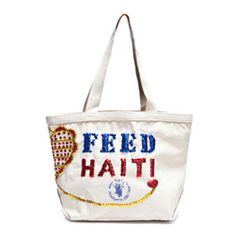 FEED 25 Haiti Bag with Sequins www.peddlersgifts.com