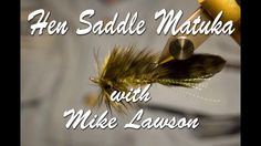 The Hen Saddle Matuka is another fly that is apart of Mikes Deadly Dozen. In this video Mike Lawson talks about why he likes the Hen Saddle Matuka and gives detailed instructions on tying the pattern. Mike says This is down and dirty. This is a must have pattern for any serious streamer fisherman.  Visit Us Online http://www.henrysforkanglers.com/