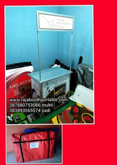 booth portable medium