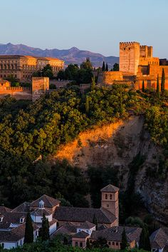 The Alhambra, Granada, Spain - so much more impressive in real life. A must see visit location. Fantastic Moorish architecture