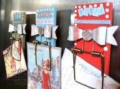 Mouse Trap Refrigerator Magnets by Authentique Paper Design Team Member Emily Lanham #authentiquepaper #epiphanycrafts