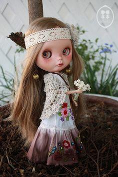OOAK Custom Blythe Doll for Adoption. | Flickr - Photo Sharing!