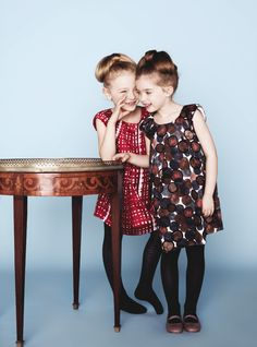 DIOR FOR LITTLE GIRLS COLECTION | Dior take a retro vintage vibe for this winter 2012 Baby Dior kids ...