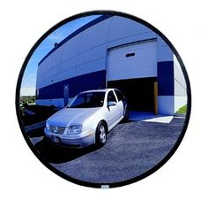 Plastic Diameter 80cm Road Safety Turning Mirror Outdoor Convex Mirror. Weatherproof. Only suitable outdoor.