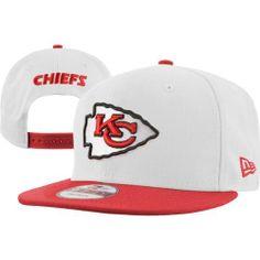 Kansas City Chiefs White/Red New Era 9Fifty White Top Snapback Hat New Era. $27.99